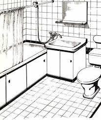 Можно начертить рисунок, для того, чтобы представлять будущую ванную комнату