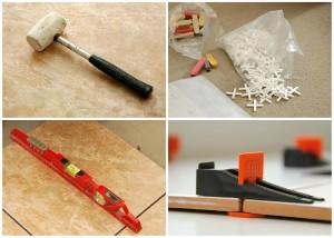 Инструменты для выравнивания плитки