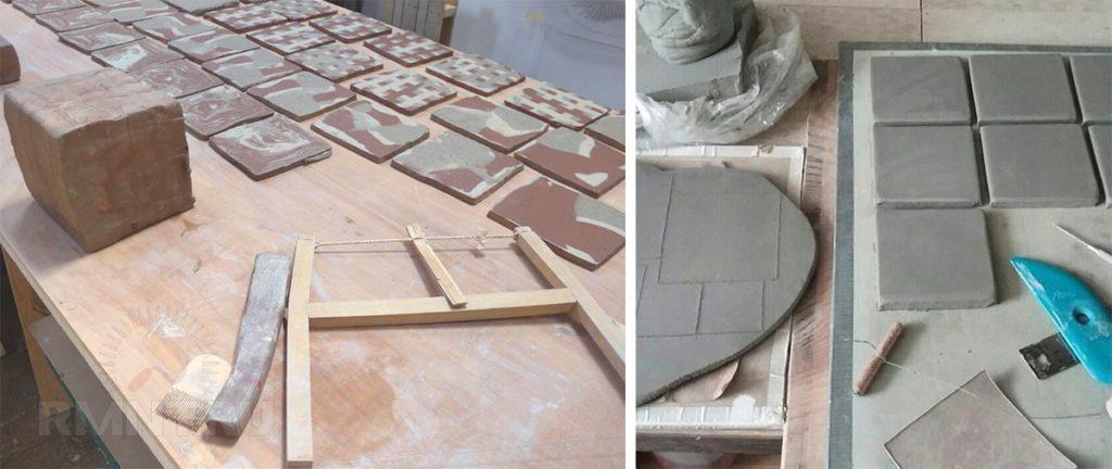 Способы раннего изготовления плитки
