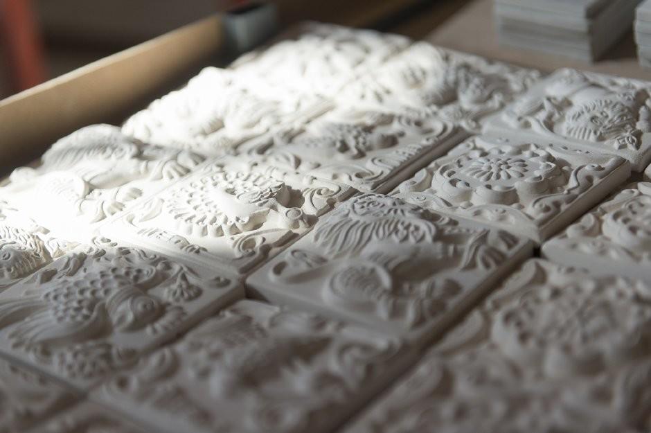 Интересные способы изготовления плитки