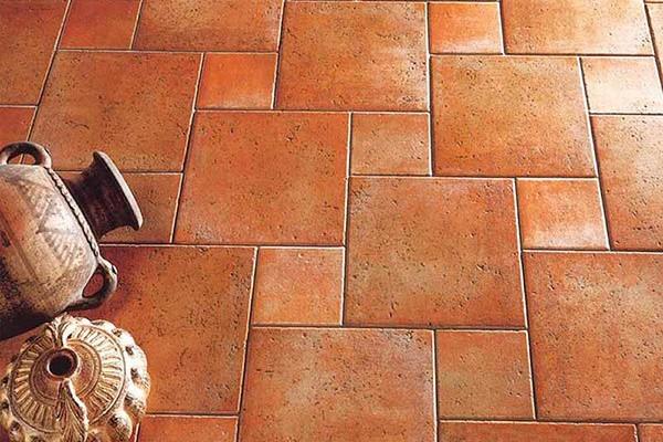 Оформления котто-плитка, подходит всем любителям ретро-оформления помещений