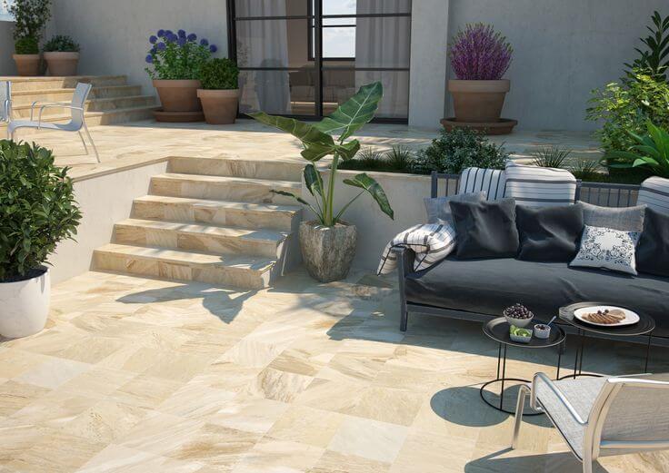 Керамическая плитка для двора