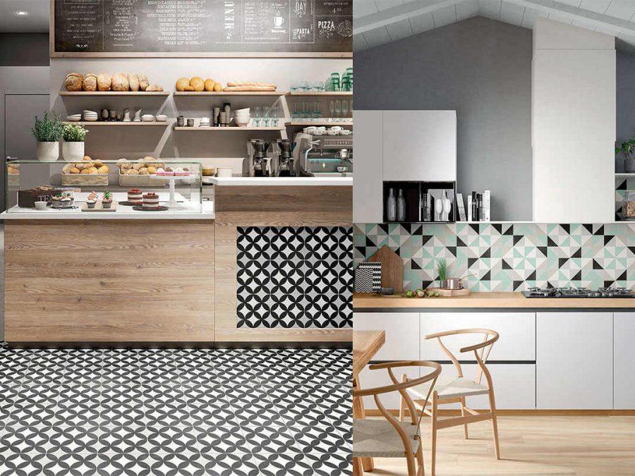 Виды плитки для кухни