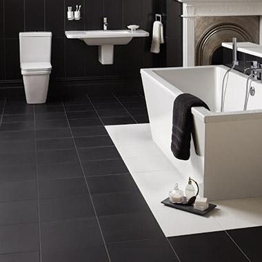 Отделка керамической плиткой туалета