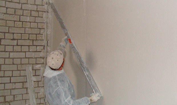 Выравнивание стены с использованием правила