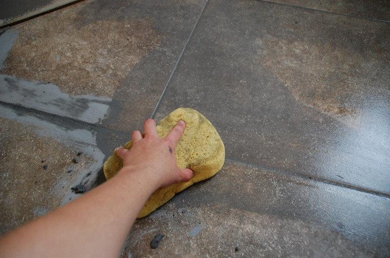 Цементная затирка