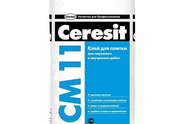 Плиточный клей Ceresit