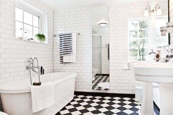 стили плитки в ванной комнате