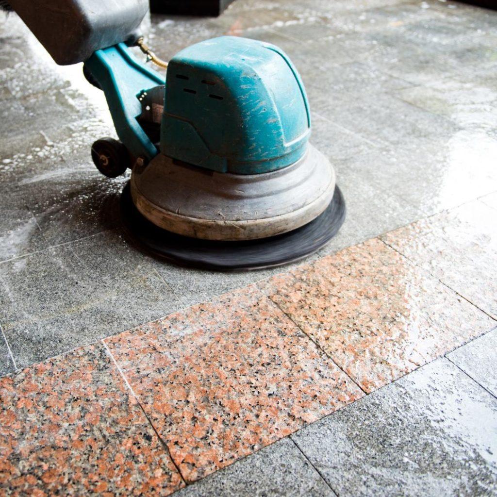 Шлифовка бетонного пола своими руками Строительный 86