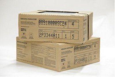Коробка с плиткой