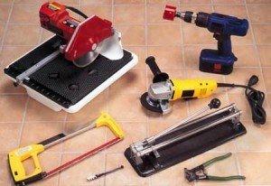 Инструменты для резки кафельной плитки