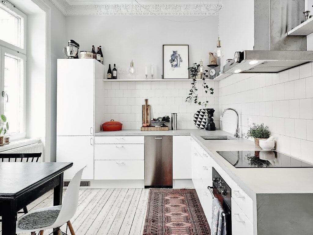 Керамическая плитка в стильном интерьере