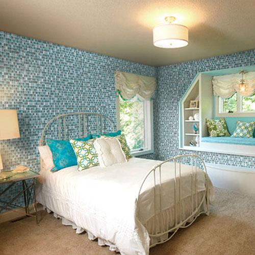 красивая мозаичная плитка на стену