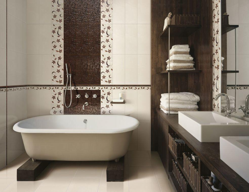 Плитка в ванной! Что нужно учитывать выбирая материал