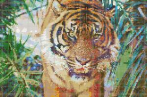 Узор из мозаичной плитки