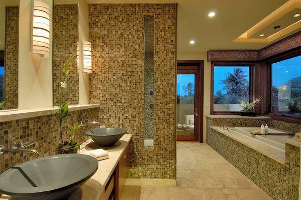 Мозаичная плитка на стену