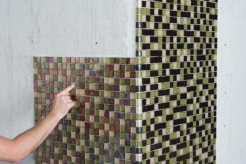 облицовка мозаичной плиткой