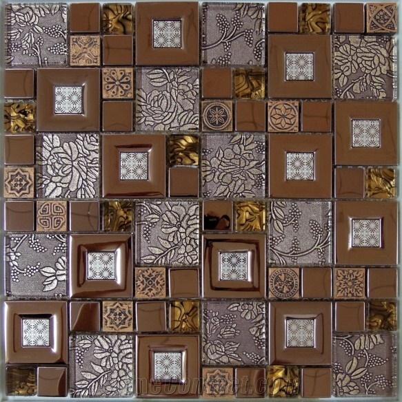 Отделка мозаичной плиткой