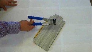 Подрезка плитки для сантехники