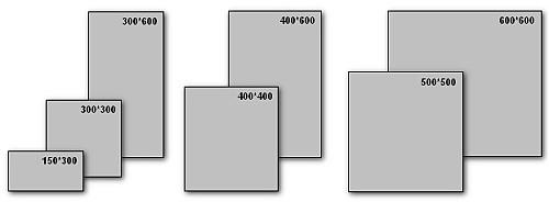 Размеры кафельной плитки