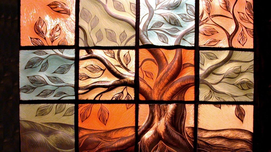 Рисунок керамической плитки дерево