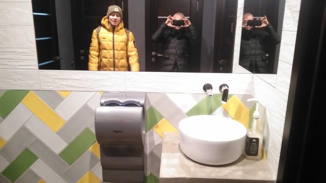Туалет в Минской забегаловке