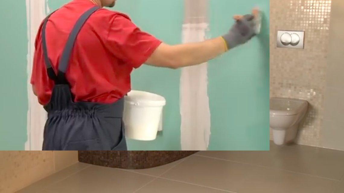 Нанесите грунтовку кистью тонким слоем по всей поверхности стен.Нанесите грунтовку кистью тонким слоем по всей поверхности стен.