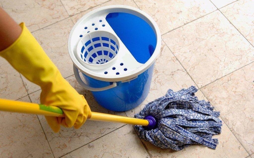 Уборка плитки